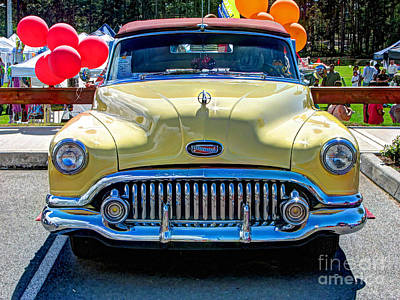 Photograph - Buick Eight by Chris Anderson