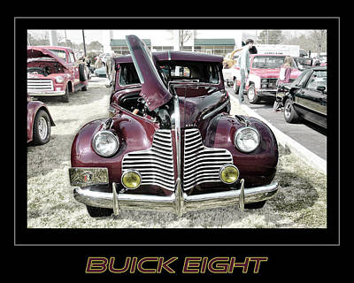 Photograph - Buick Eight Retro by Davina Washington