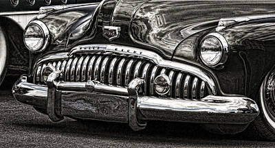 Photograph - Buick Eight by Wes and Dotty Weber
