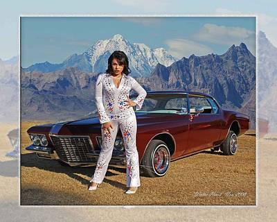 Photograph - Buick Riviera Lowrider by Walter Herrit