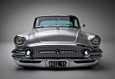 Muscle Car Masters Photograph - Buick Roadmaster 1955 by Gianfranco Weiss