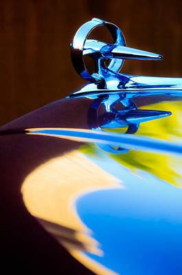 Photograph - Buick Roadmaster Hood Ornament -0625c by Jill Reger