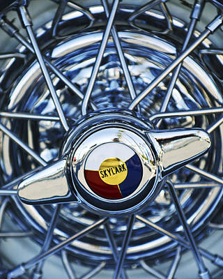 Buick Skylark Wheel Art Print