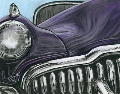 Painting - Buick Smile by Michael Foltz