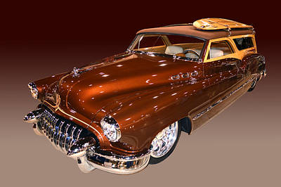 Photograph - Buick Surf Wagon by Bill Dutting