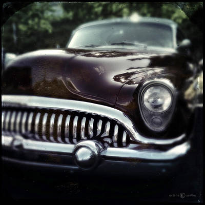 Photograph - Buick With Trees by Tim Nyberg