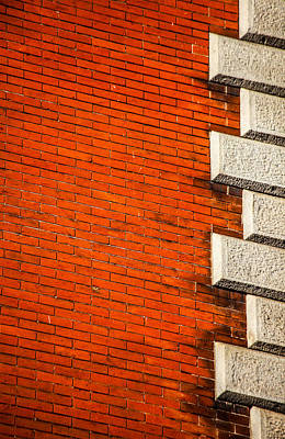 Photograph - Building Abstract by Karol Livote