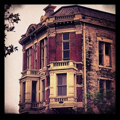 Victorian Wall Art - Photograph - #building #architecture #brick #old by Jill Battaglia