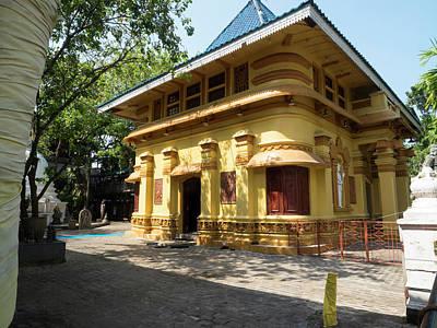 Building At Gangaramaya Temple 19th Art Print