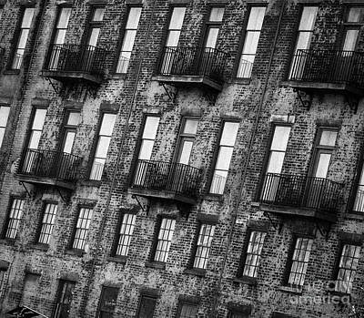 Photograph - Building Black And White by Andrea Anderegg