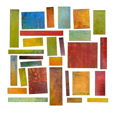 Painting - Building Blocks One by Michelle Calkins