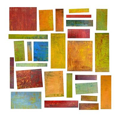 Painting - Building Blocks Two by Michelle Calkins