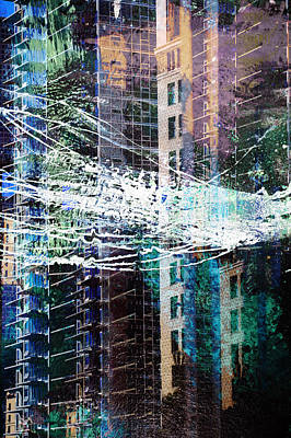 Painting - Building Boom by John Fish