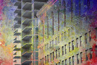 Photograph - Building Construction by John Fish