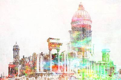Digital Art - Building Hope Caucus by Mary Clanahan