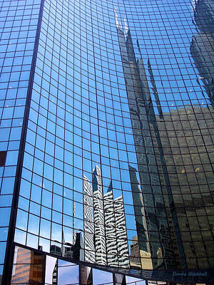 Photograph - Building Mosaic by Donna Blackhall