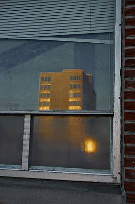 Photograph - Building Reflected II by Patricia Strand