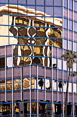 Photograph - Building Reflections by Maria Coulson