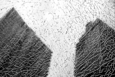 Rainy Day Photograph - Building Shadows by Valentino Visentini