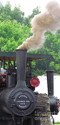 Photograph - Building Steam Power by Deborah Johnson
