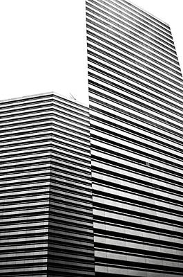 Photograph - Buildings Abstract by Kevin Duke