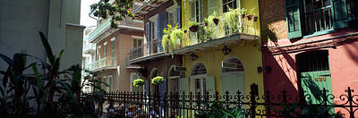 French Quarter Photograph - Buildings Along The Alley, Pirates by Panoramic Images