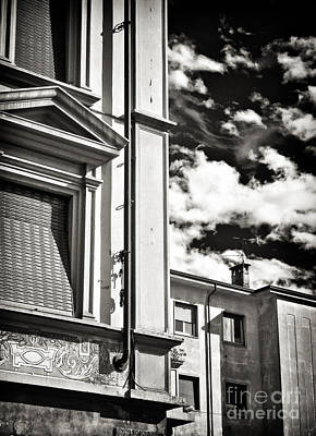 Photograph - Buildings And Sky by Silvia Ganora