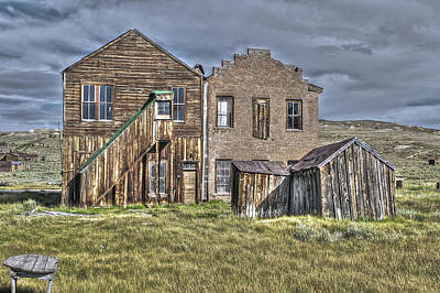Photograph - Buildings At Bodie by SC Heffner