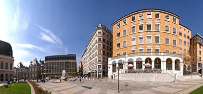 Buildings At Place Louis Pradel, Lyon Art Print by Panoramic Images