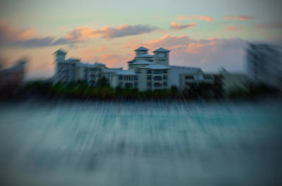 Photograph - Buildings At Sunset by Celso Bressan