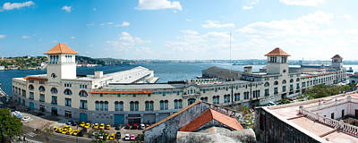 Havana Photograph - Buildings At The Harborfront, Sierra by Panoramic Images