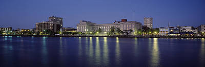 Buildings At The Waterfront, Cape Fear Art Print by Panoramic Images