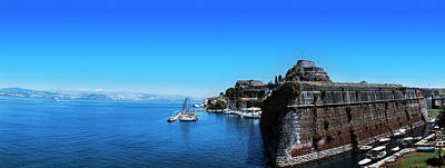 Corfu Photograph - Buildings At The Waterfront, Corfu by Panoramic Images