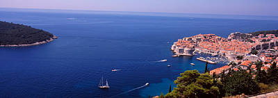 Buildings At The Waterfront, Dubrovnik Art Print by Panoramic Images