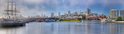 Buildings At The Waterfront, Fishermans Art Print by Panoramic Images