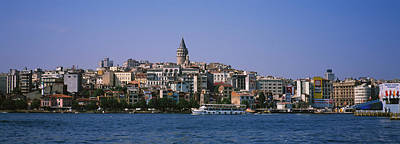 Crowd Scene Photograph - Buildings At The Waterfront, Istanbul by Panoramic Images