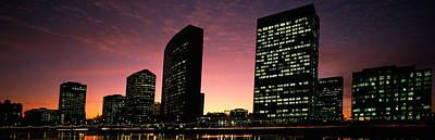 Evening Scenes Photograph - Buildings At The Waterfront, Oakland by Panoramic Images