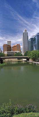 Buildings At The Waterfront, Omaha Art Print by Panoramic Images