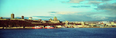 Quebec Photograph - Buildings At The Waterfront, Quebec by Panoramic Images