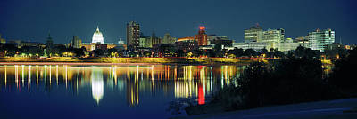 Harrisburg Photograph - Buildings At The Waterfront, State by Panoramic Images