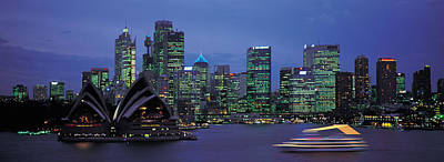 Featured Images Photograph - Buildings At The Waterfront, Sydney by Panoramic Images