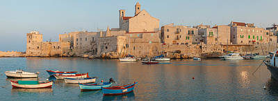 Buildings At The Waterfront With Boats Art Print by Panoramic Images