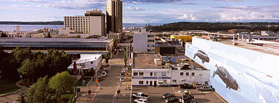 Anchorage Photograph - Buildings In A City, Anchorage, Alaska by Panoramic Images