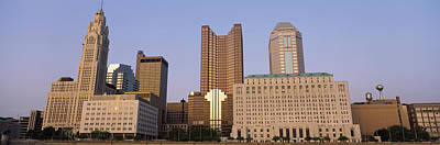 Buildings In A City, Columbus, Franklin Art Print by Panoramic Images