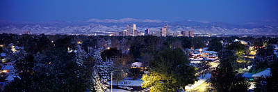 Buildings In A City, Denver, Denver Art Print by Panoramic Images
