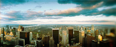 Empire State Photograph - Buildings In A City, Empire State by Panoramic Images