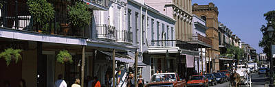 Buildings In A City, French Quarter Art Print