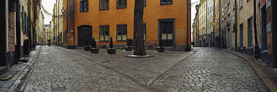 Gamla Stan Photograph - Buildings In A City, Gamla Stan by Panoramic Images