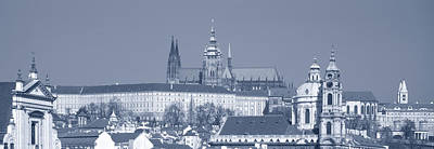 Prague Photograph - Buildings In A City, Hradcany Castle by Panoramic Images