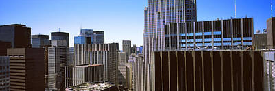 Buildings In A City, Midtown Art Print by Panoramic Images